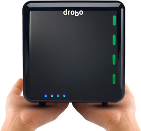Drobo: The Most Advanced 4-Bay Drobo Ever