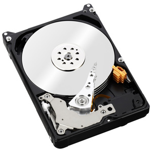 WD Green Mobile Hard Drive View